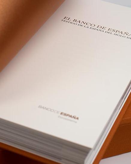 Banco de España — Libro Institucional